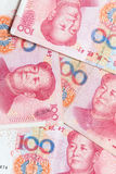 现代中国元人民币钞票 免版税库存图片
