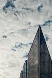 现代企业修造的外部 免版税库存照片