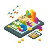 现代企业和逻辑分析方法概念 免版税库存照片