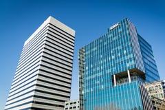 现代企业大厦建筑学哥伦比亚南卡罗来纳大街 库存图片