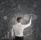 现代企业概念 图库摄影
