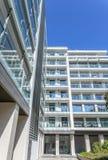 现代住宅办公楼 免版税图库摄影