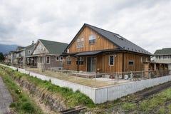 现代住宅物产 免版税库存图片