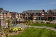 现代住房开发 免版税库存图片