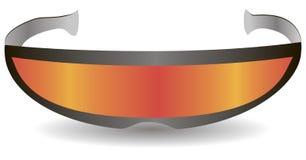 现代体育太阳镜 库存例证