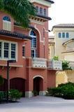 现代佛罗里达建筑学 免版税库存图片