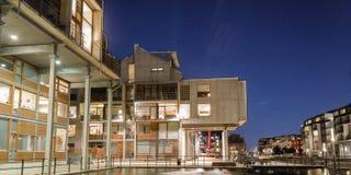公寓-抽象设计 免版税库存照片