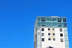 现代公寓外部 库存照片