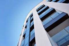 现代公寓外部 图库摄影