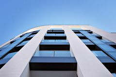 现代公寓外部 免版税库存图片