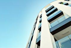 现代公寓外部 免版税图库摄影