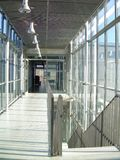 现代内部走廊 免版税图库摄影