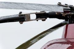 现代军用直升机电动子  免版税库存照片