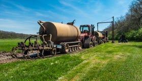 现代农场设备 库存图片