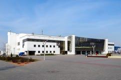 现代冰宫殿,戈梅利,白俄罗斯 图库摄影