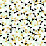 现代几何无缝的样式 免版税库存图片