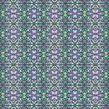 现代几何蔓藤花纹无缝的样式 免版税库存照片