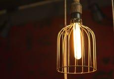 现代创造性的垂悬的光 免版税库存照片