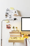 现代创造性的工作区 免版税图库摄影