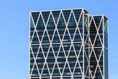 现代办公室塔 免版税图库摄影