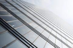 现代办公楼在欧洲 免版税库存图片