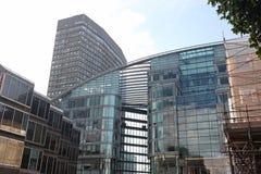 现代办公楼,伦敦 库存图片
