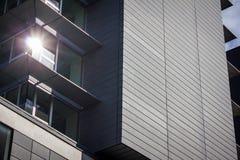 现代办公楼,曼彻斯特英国 库存图片