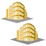 现代办公楼,廉价公寓房地产 库存图片