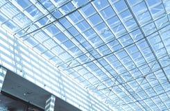 现代办公楼玻璃屋顶 图库摄影