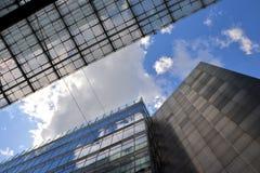 现代办公楼 免版税图库摄影