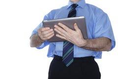 现代移动计算机 免版税图库摄影