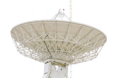 现代卫星盘 库存图片