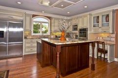 现代厨房区域03 免版税库存图片