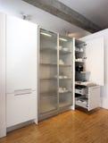 现代厨房,细节 库存照片