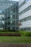 现代商业中心外部门面 库存图片