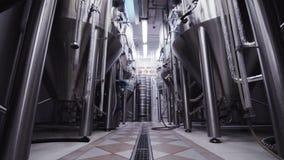 现代啤酒厂啤酒钢大坦克 股票视频