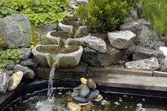 现代喷泉 图库摄影
