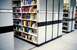 现代图书馆 免版税库存图片