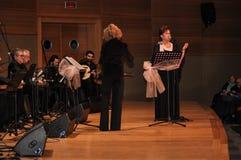 现代土耳其古典音乐唱诗班 免版税库存图片