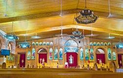 现代埃及之土著基督教派 免版税图库摄影