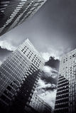现代城市大厦 免版税图库摄影