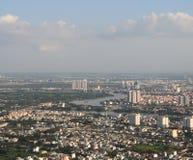 现代城市的发展 免版税图库摄影