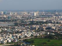 现代城市的发展 库存图片