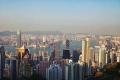 现代城市的看法 图库摄影