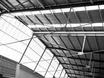 现代城市rchitecture天花板 库存照片