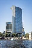 现代塔式大楼,开罗,埃及 免版税图库摄影
