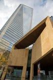 现代夏洛特建筑学 库存照片