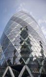 现代大厦在伦敦,英国 库存图片