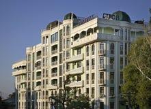 现代大厦在傲德萨 乌克兰 库存图片