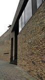 现代大厦在吕贝克,德国 免版税库存图片